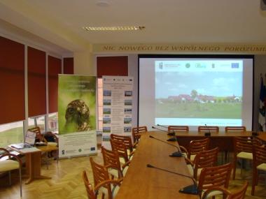 Konferencja promocyjna rozbudowanej OŚ w Trzech Lipach